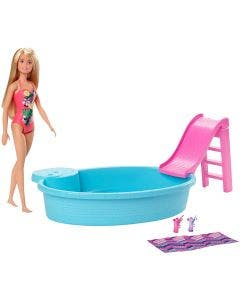 Barbie Piscina con Muñeca
