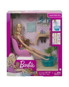 Barbie Bienestar Mani-pedi Spa